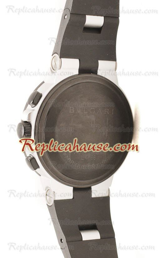 Bvlgari Diagono Swiss Replica Watch 21