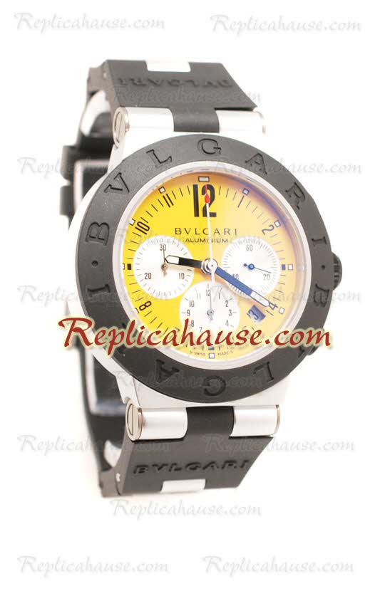 Bvlgari Diagono Swiss Replica Watch 23