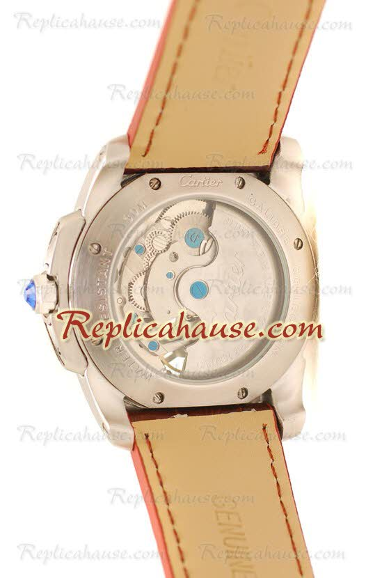 Calibre de Cartier Flying Tourbillon Replica Watch 05