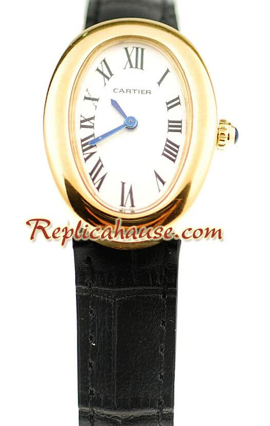Cartier Baignoire Ladies Replica Watch 3<font color=red>หมดชั่วคราว</font>