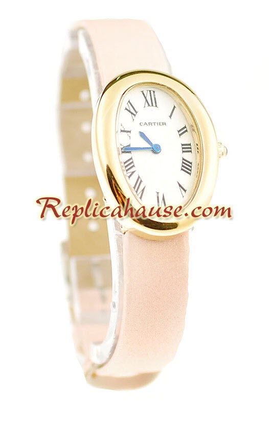 Cartier Baignoire Ladies Replica Watch 4<font color=red>หมดชั่วคราว</font>
