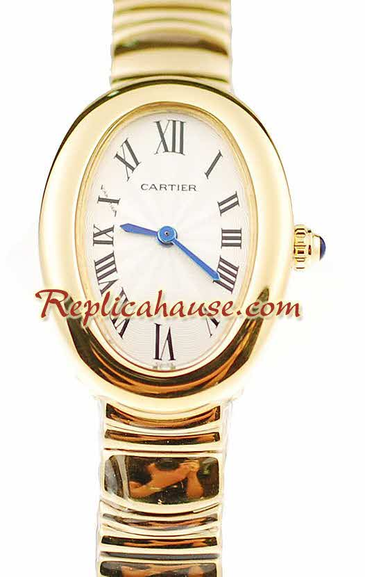 Cartier Baignoire Ladies Replica Watch 7