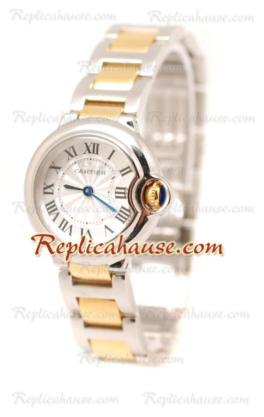 Cartier De Balloon Swiss Replica Watch - Ladies 05