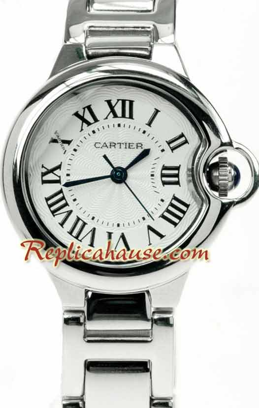 Ballon Blue De Cartier Ladies Replica Watch 01
