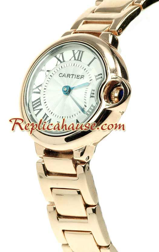 Ballon Blue De Cartier Ladies Replica Watch 02