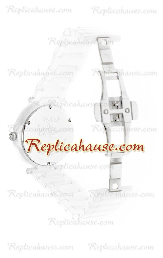 Cartier De Pasha Ceramic Replica Watch 01
