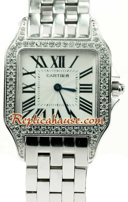Cartier Demoisille Ladies Swiss Replica Watch 01