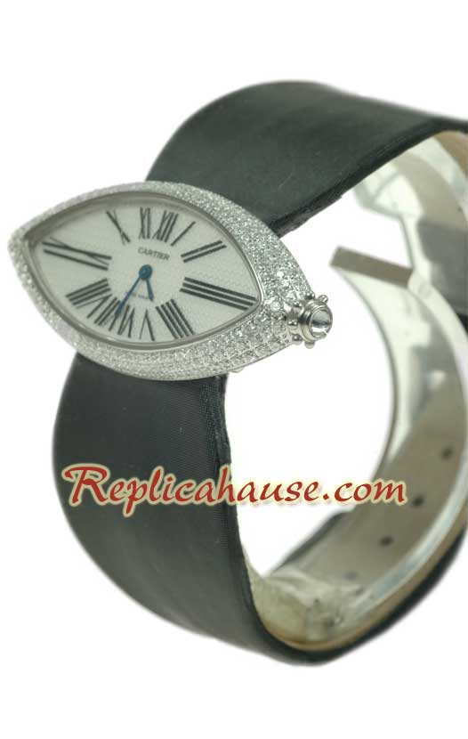 Cartier Swiss Replica Watch Ladies 02