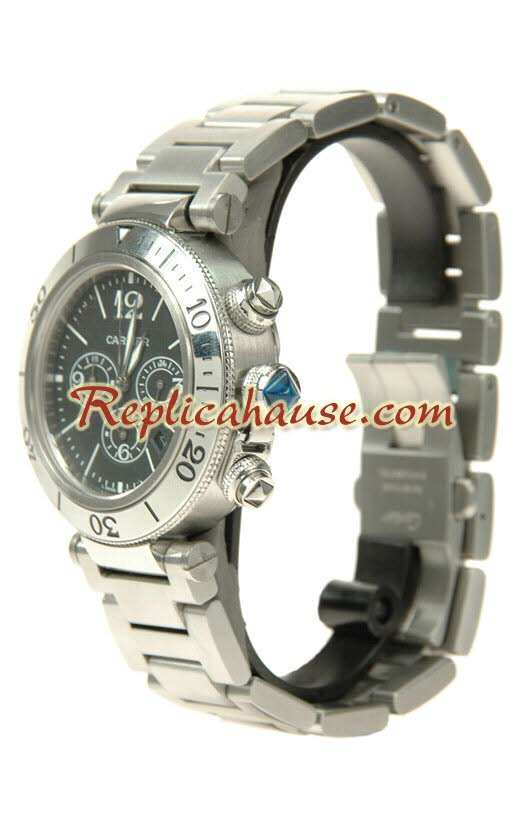 Cartier Pasha Seatimer Replica Watch 06
