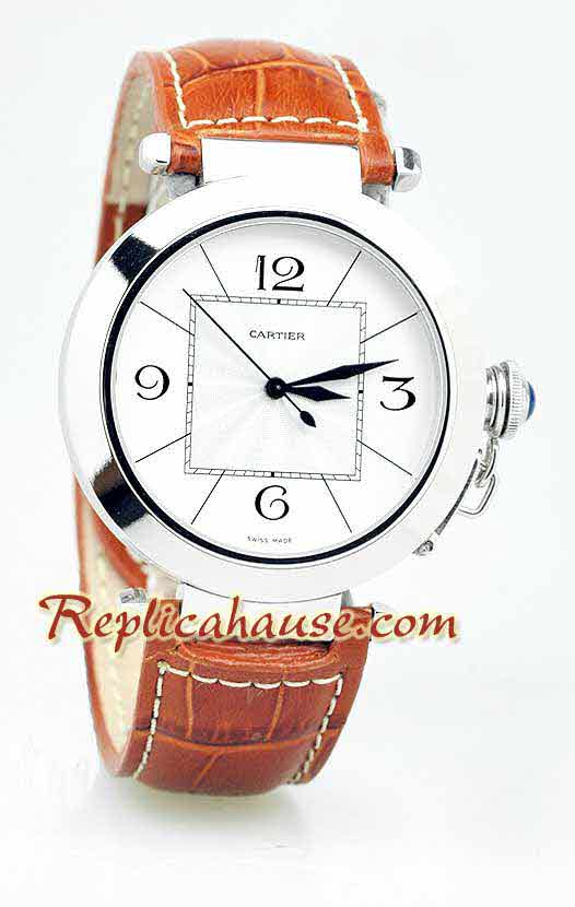 Cartier De Pasha Swiss Replica Watch 04