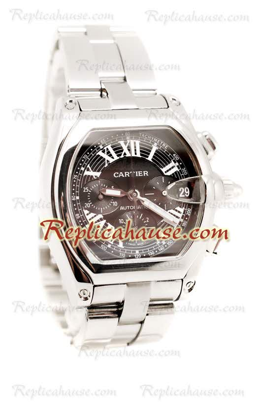 Cartier Roadster Chronograph Swiss Replica Watch 02