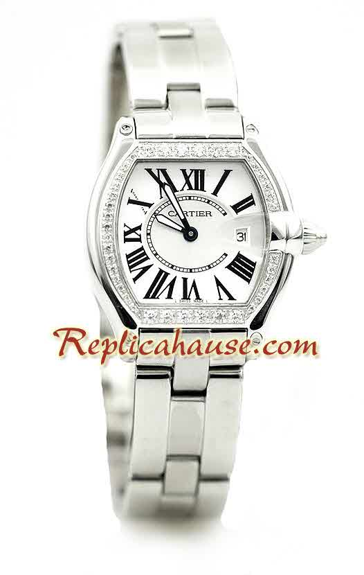 Cartier Roadster Ladies Replica Watch 01