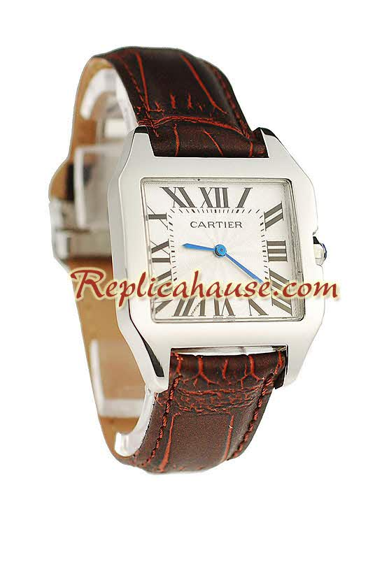 Cartier Santos 100 Ladies Replica Watch 01
