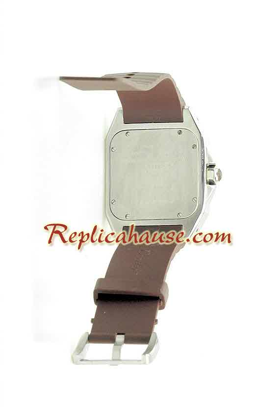Cartier Santos 100 Swiss Replica Watch 8