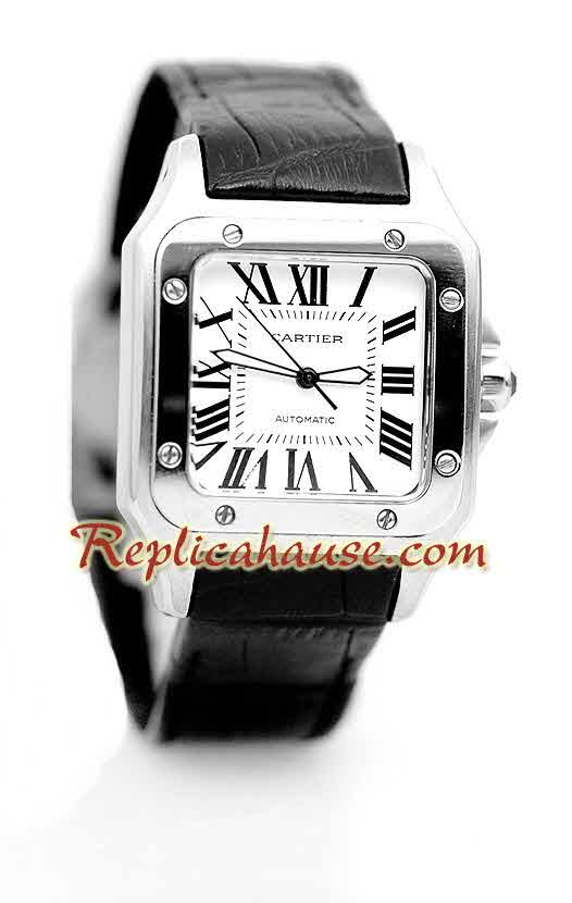 Cartier Replica Santos 100 Ladies Watch