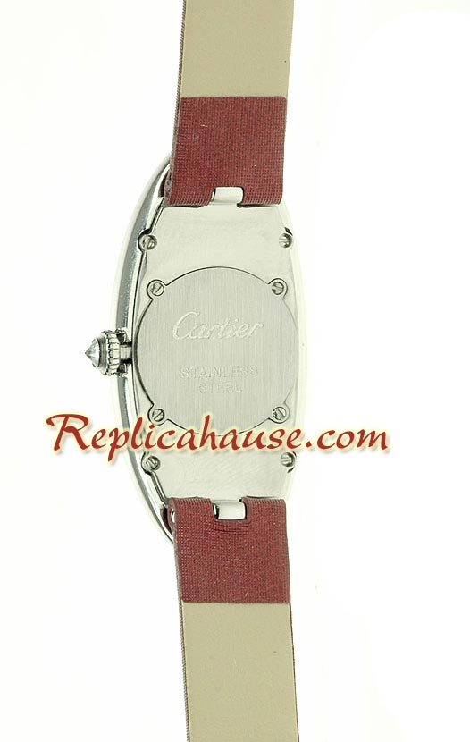 Cartier Baignoire Crash Ladies Swiss Replica Watch 02<font color=red>หมดชั่วคราว</font>