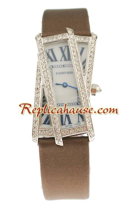 Cartier Tank Crash Swiss Ladies Replica Watch 01