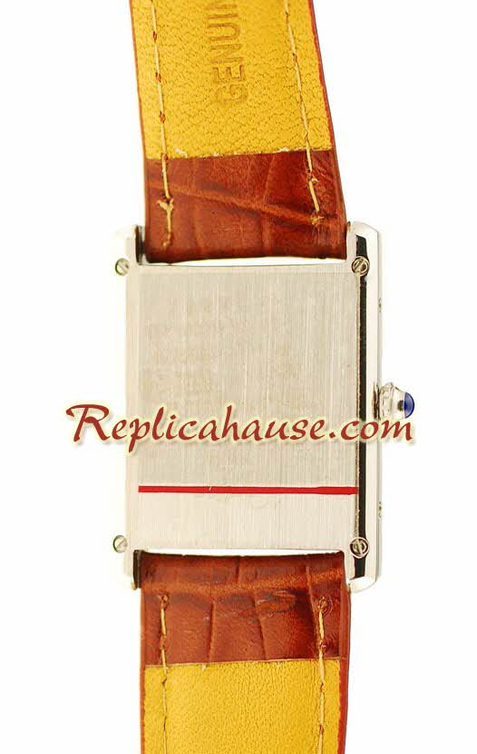 Cartier Tank Ladies Replica Watch 4