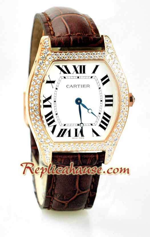 Cartier Tortue Swiss Unisex Replica Watch 2