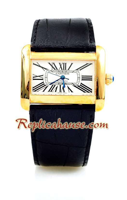 Cartier Divans Unisex Swiss Replica Watch 1