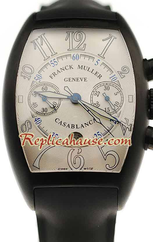 Franck Muller Casablanca Chronograph Swiss Replica Watch 02