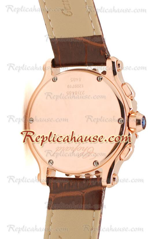 Chopard Happy Sport Ladies Replica Watch 17