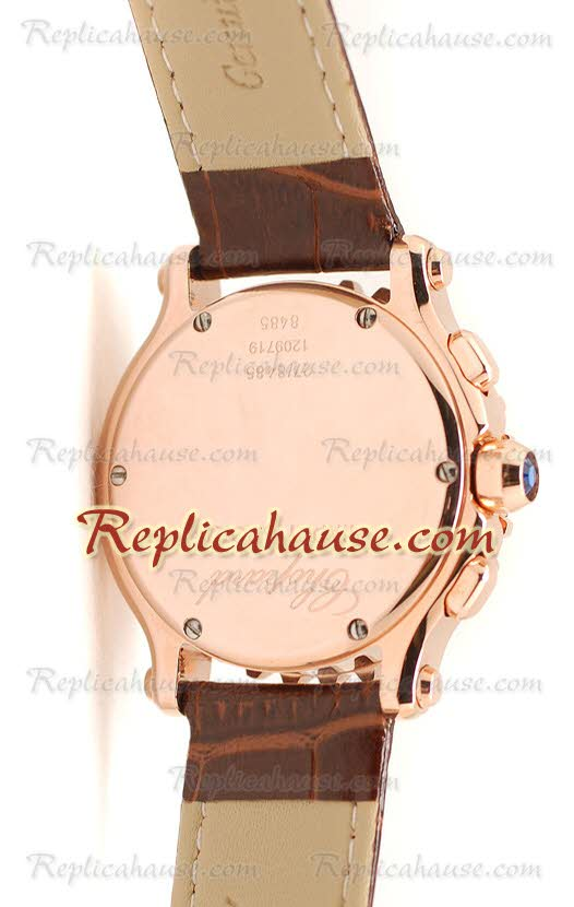Chopard Happy Sport Ladies Replica Watch 18