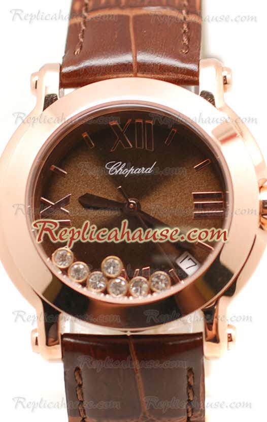 Chopard Happy Sport Ladies Replica Watch 21