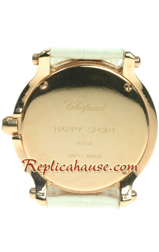 Chopard Happy Sport Swiss Ladies Watch 02