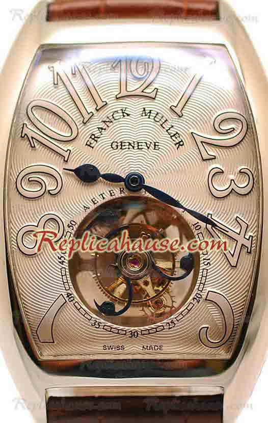 Franck Muller Aeternitas Tourbillon Swiss Replica Watch 07