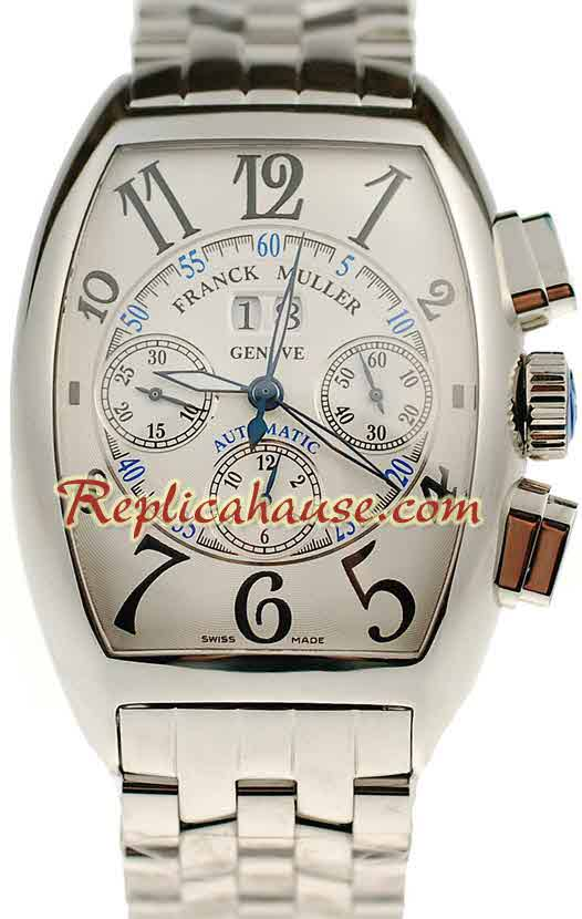 Franck Muller Casablanca Chronograph Swiss Replica Watch 03