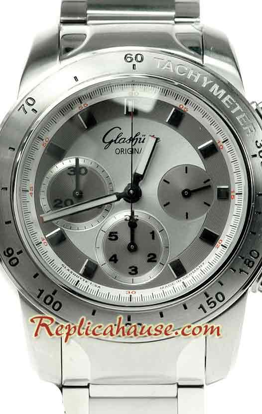 Glashutte Sport Evolution Chronograph Swiss Watch 01