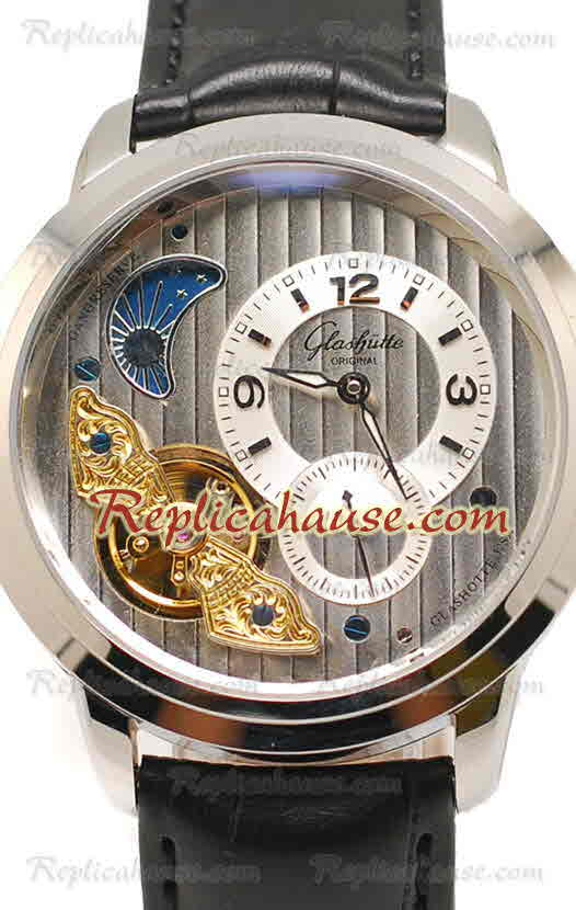 Glashutte Panoinverse XL Replica Watch 01