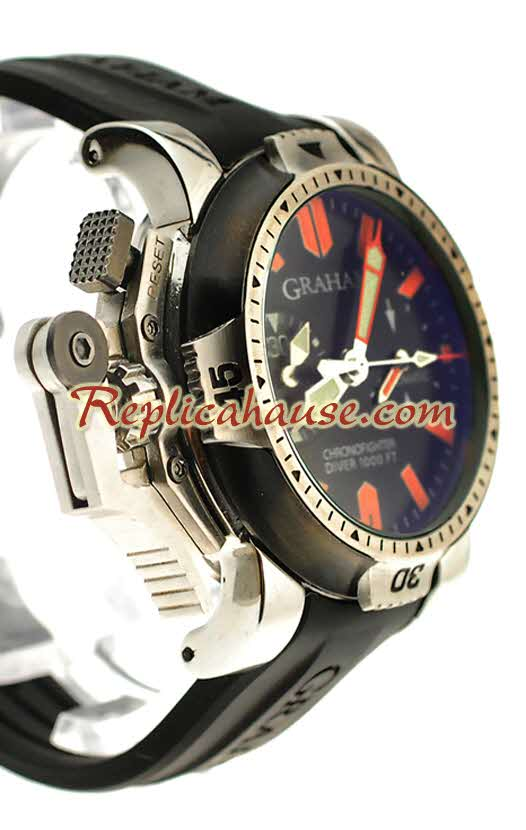 Graham Chronofighter Oversize Diver Replica Watch 01