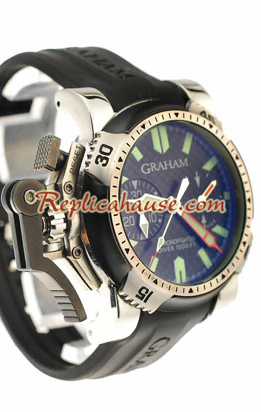 Graham Chronofighter Oversize Diver Replica Watch 02