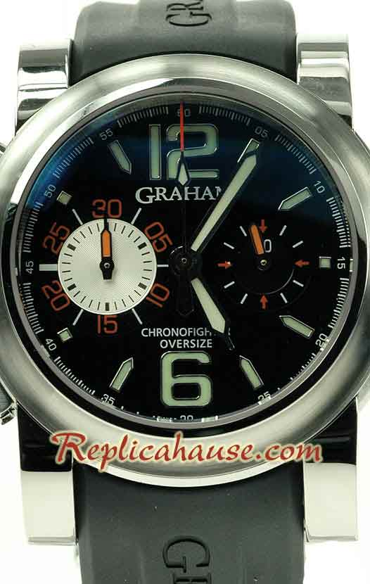 Graham Oversize Chronofighter Overlord Swiss Watch 07