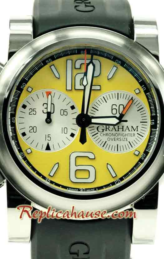 Graham Oversize Chronofighter Swiss Watch 07