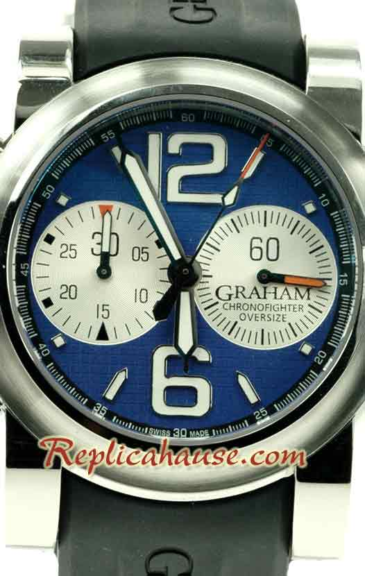 Graham Oversize Chronofighter Swiss Watch 05
