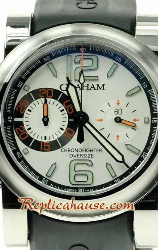 Graham Oversize Chronofighter Swiss Watch 06