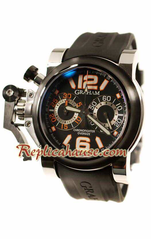 Graham Oversize Chronofighter Divers Swiss Replica Watch 09