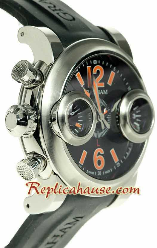 Graham Swordfish Swiss Replica Watch 04 - Left hand Edition