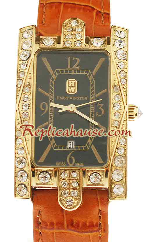 Harry Winston Avenue Classic Swiss Ladies Replica Watch 03