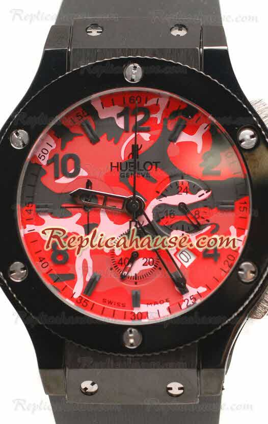 Hublot Big Bang Replica Army Dial Watch 05