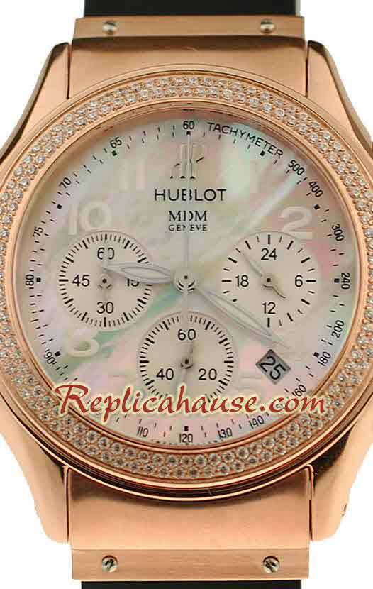 Hublot MDM Chronograph Swiss Replica Watch 40MM - 03