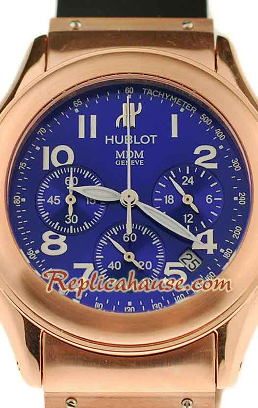 Hublot MDM Chronograph Swiss Replica Watch 40MM - 08