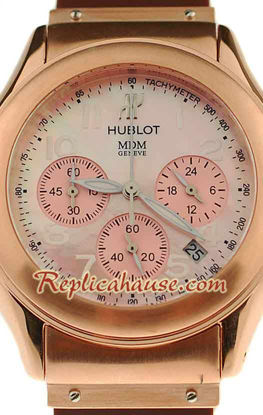Hublot MDM Chronograph Swiss Replica Watch 40MM - 09
