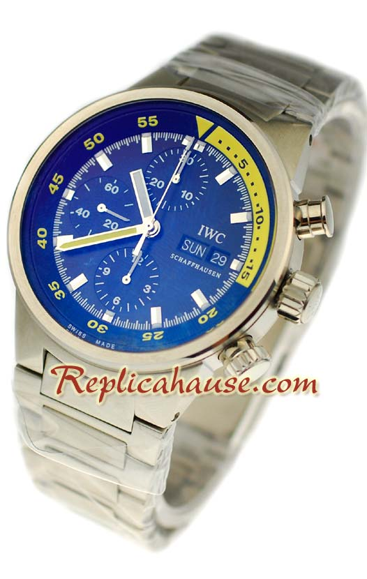 IWC Aquatimer Chrono Automatic Swiss Replica Watch 1