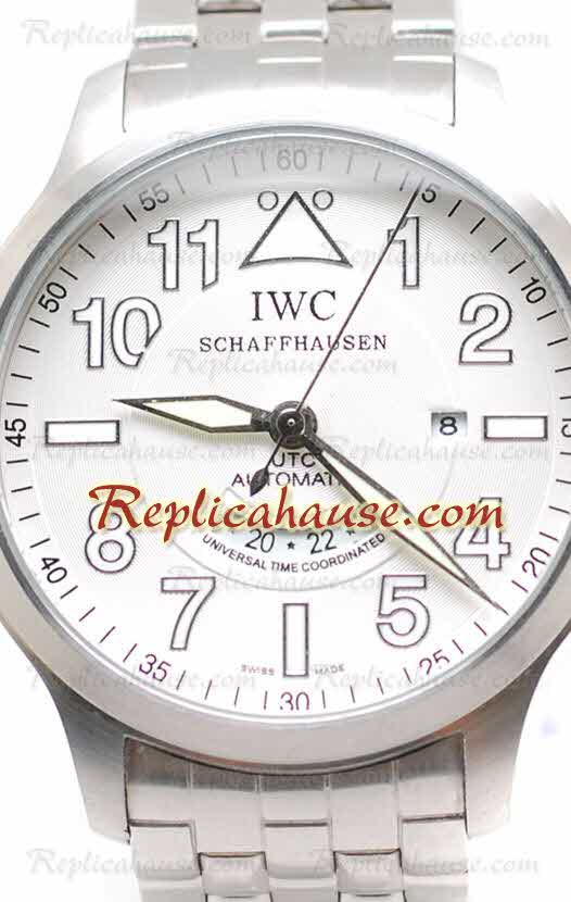 IWC Pilot Spitfire UTC Replica Watch 01