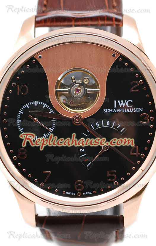 IWC Portuguese Tourbillon Mystere Replica Watch 04