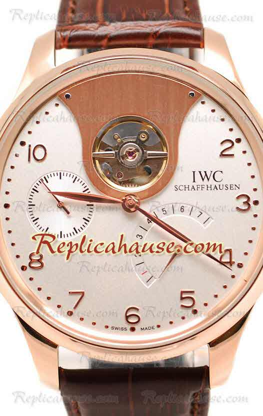IWC Portuguese Tourbillon Mystere Replica Watch 05